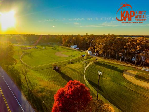 Baseball Sunset