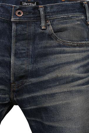 Libertadのジーンズけいねんへけいねんへんか経年変化