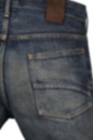 Libertadのジーンズ経年変化