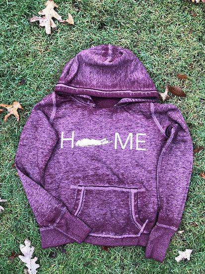 women's zen hoodie in cranberry