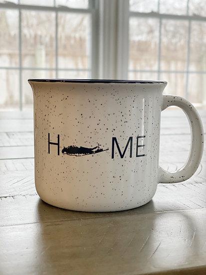 ceramic campfire coffee mug