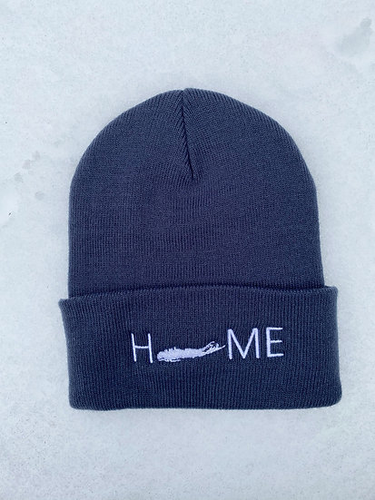 cuffed beanie in navy