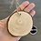 Thumbnail: home wood slice ornament