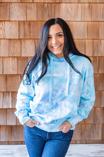 unisex tie dye hoodie