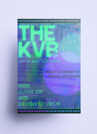 The KVB Poster