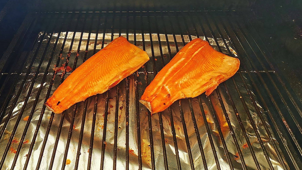 Smoked Trout (1lb)