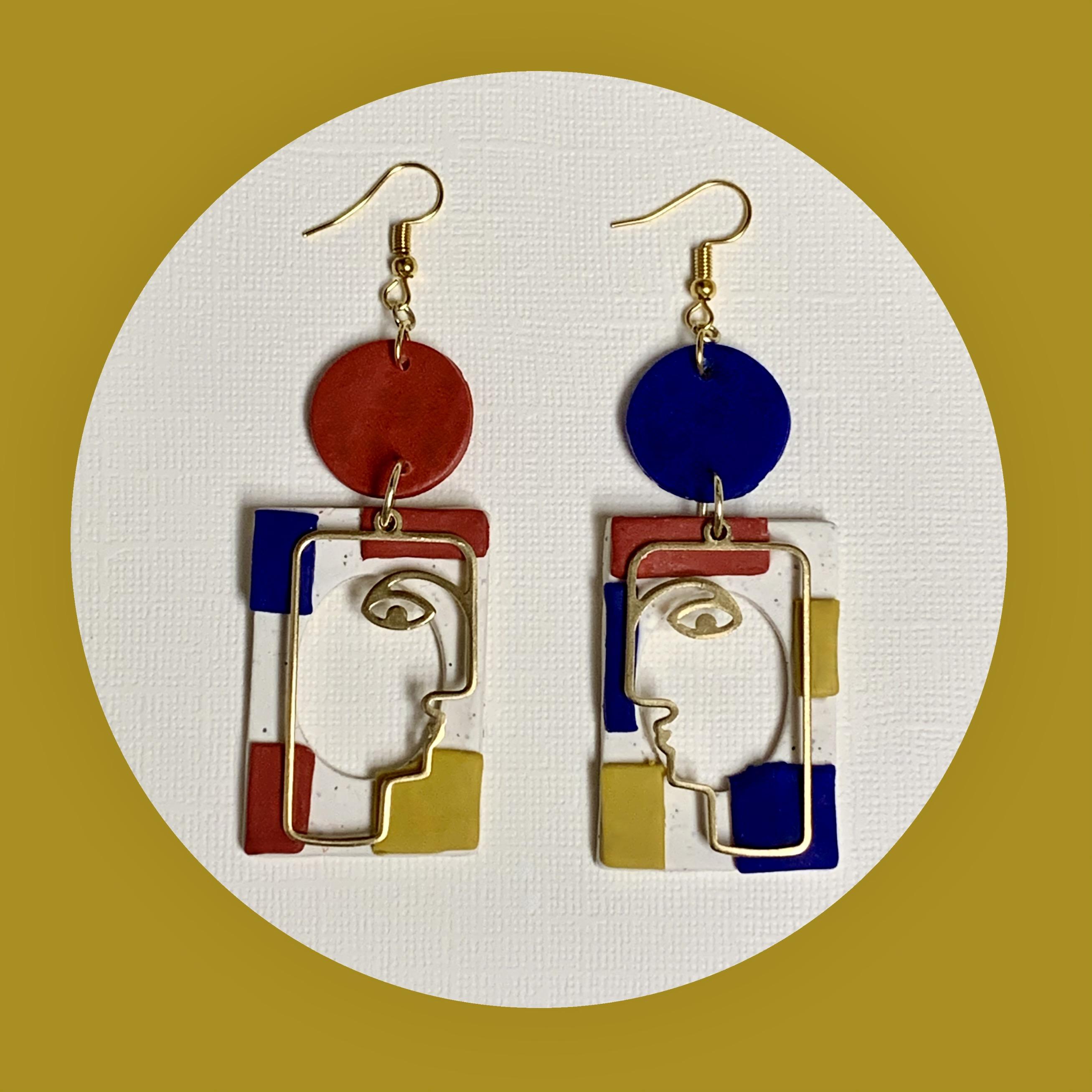 Mondrian Gigi Earrings