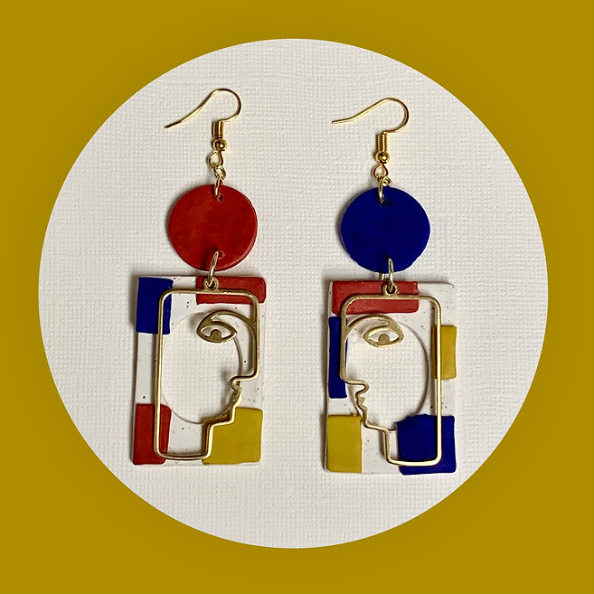Mondrian Gigi Earrings