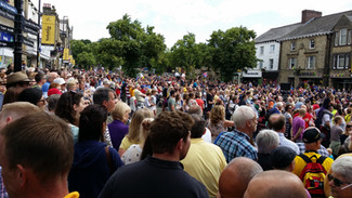 Remembering the Tour de France coming to Skipton