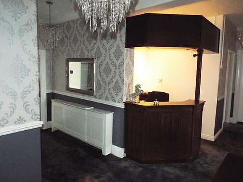 unicorn Skipton reception area