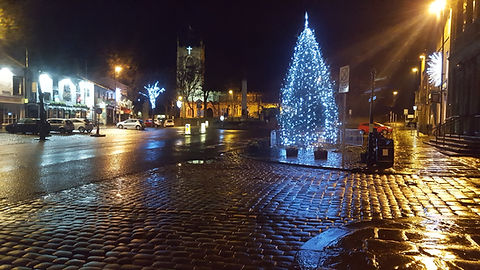 skipton Christmas tree