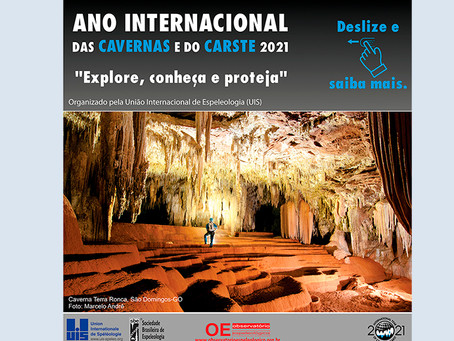 The OE promotes actions for the International Year of Caves and the Karst 2021 (IYCK 2021).