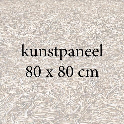 kunstpaneel 80 x 80 cm
