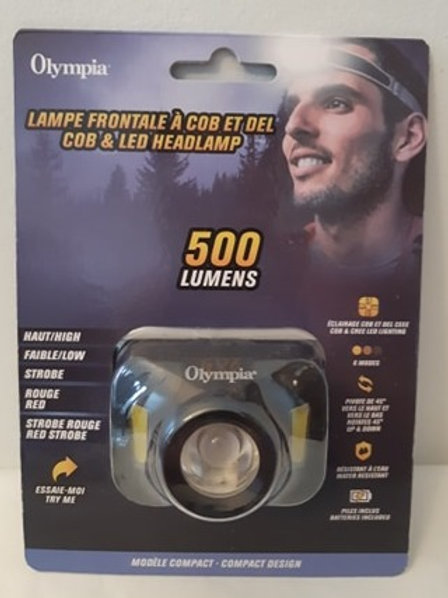 Olympia COB & LED Headlamp