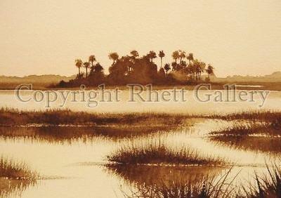 Sepia Marsh