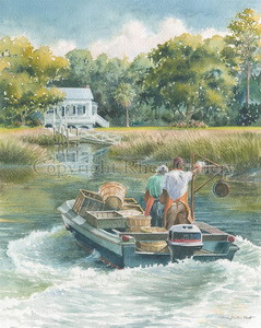 Crabbers on the Creek