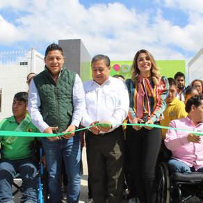 DIF Soledad inauguró la segunda unidad básica de rehabilitación