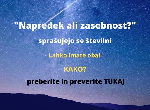"""POLEMIKA NA ČLANEK Miloša Milača: """"Želite varnost in napredek ali zasebnost? Oboje ne gre"""""""