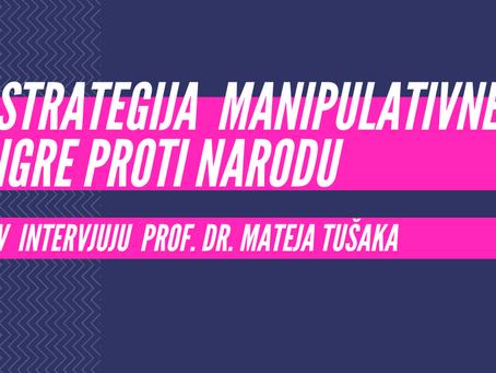 NEKAJ BESED O ZNANOSTI - uvod analize intervjuja prof. dr. Mateja Tušaka