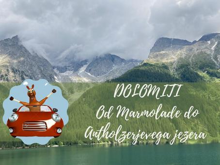 Od Marmolade do Antholzerjevega jezera