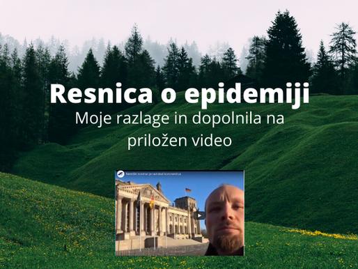 Resnice o epidemiji