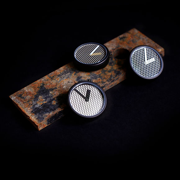 surgical grade stainless steel case by Hatch Watches the optical kinetic moire watch wristwatch pattern patterns hatching graphic design london hatchwatches hatch