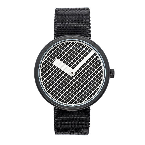 Moire Kinetic Pattern HOB Watch