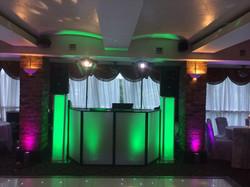 Disco & Uplighters at Garrison Hotel