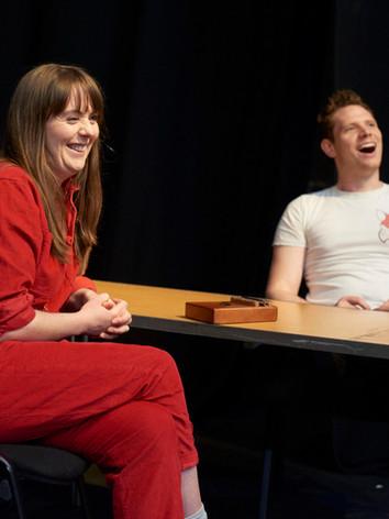 Anna and Callum - Greenwich Theatre R&D