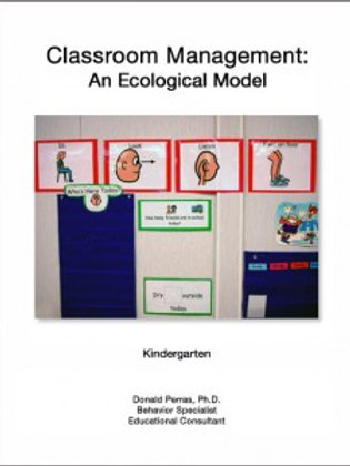 Classroom Management: An Ecological Model:  Kindergarten