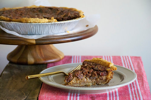 "9"" Bourbon Pecan Pie by Whisked"