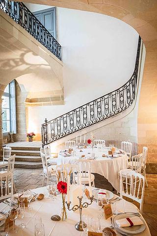 Vestibule château Loyat ©Guillaume Ayer
