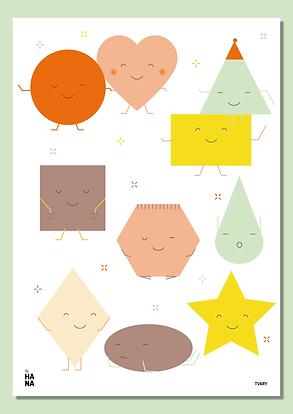 Tvary kamaráti / Shape friends poster