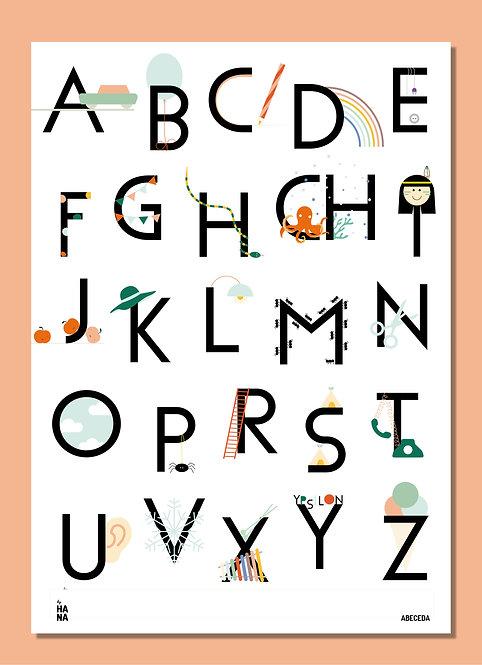 Abeceda poster - 2nd edition