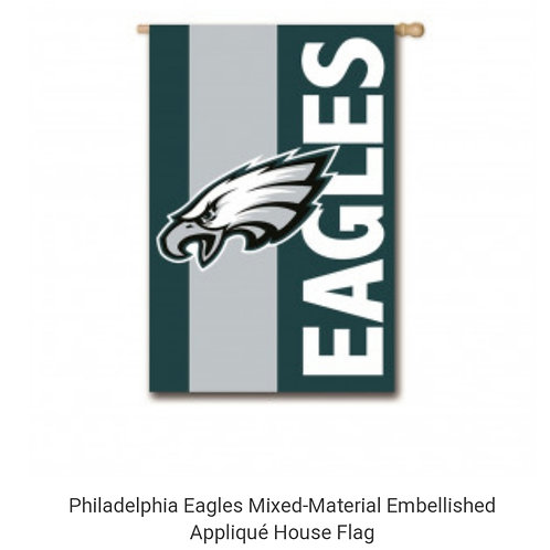 Eagles Mixed-Material House Flag