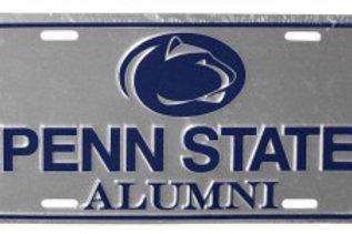 PSU Alumni Metal License Plate