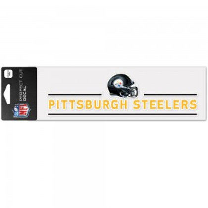 Steelers Decal 3x10in