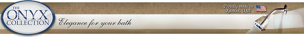 The Onyx Bath Collection Logo