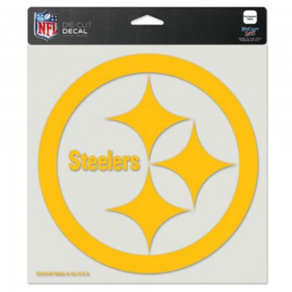 Steelers Decal 8x8in