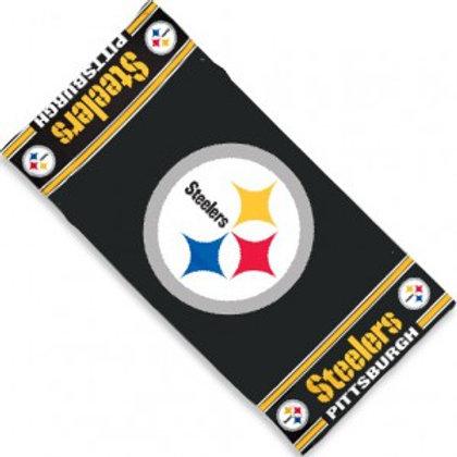 Steelers Beach Towel 30x60