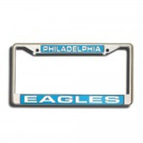 Eagles NFL Laser Chrome License Plate