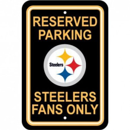 Steelers Parking Sign