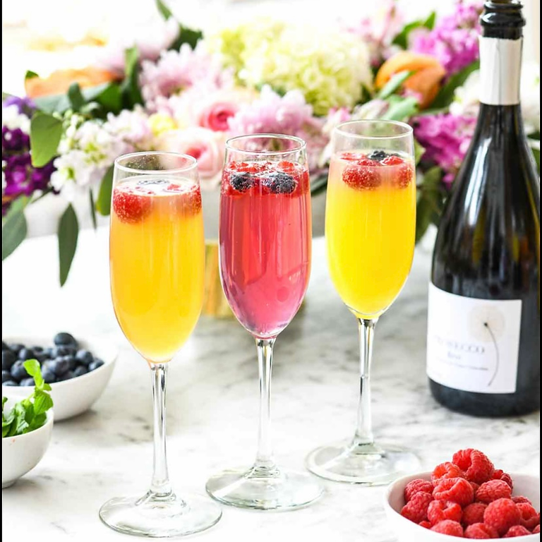 Mimosas in the Morning