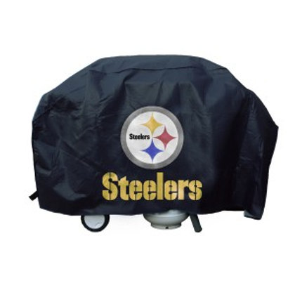 Steelers Grill Cover 68in