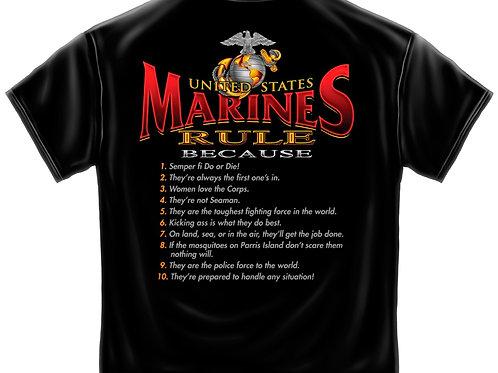 Marines Rule Tee