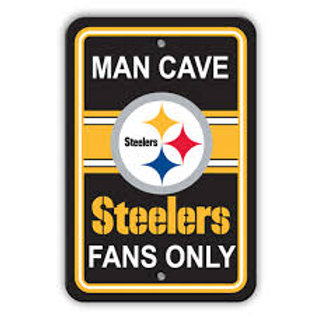 Steelers Man Cave Sign