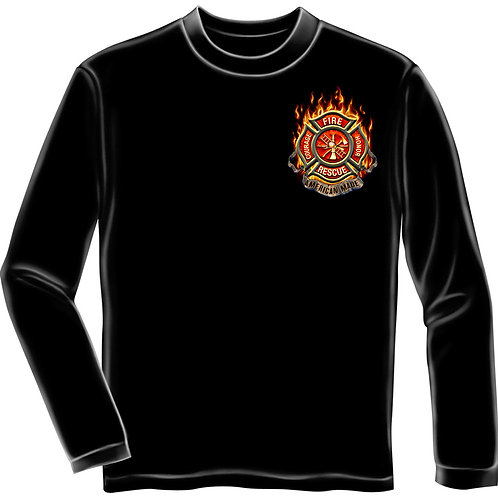 Firefighter Long Sleeve Shirt