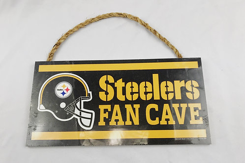Steelers Fan Cave Sign