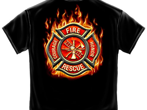 Fire Rescue Tee