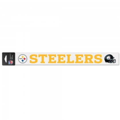 Steelers Decal 2x17in